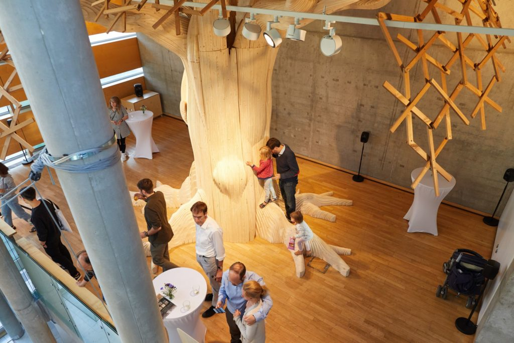 Wild Wild Wood -näyttelyn avajaiset Berliinissä.